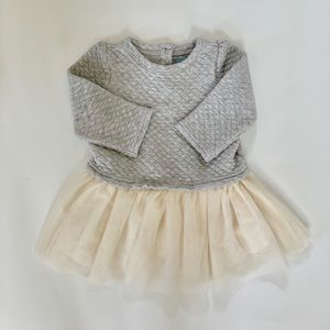 Baby GAP Quilted Sweatshirt Dress
